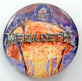 Megadeth - 'Countdown to Extinction, Cloud' 32mm Badge